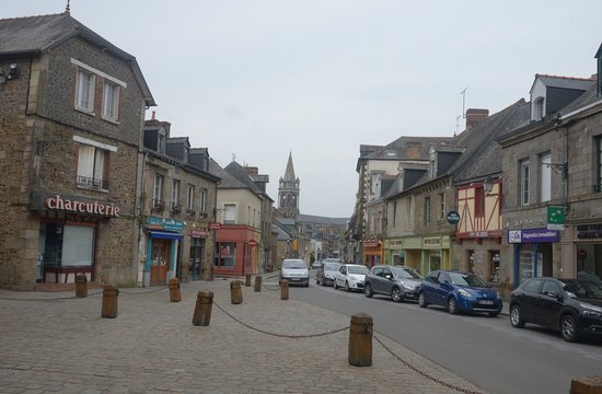 Combourg, Fransa: il centro storico