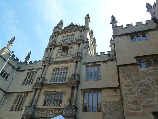 Tower of the Five Orders (Bodleian Library) i Oxford
