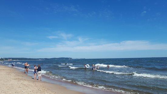 Jelitkowo Beach: tengerpart