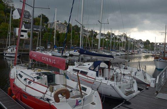 Morlaix, França: il porto