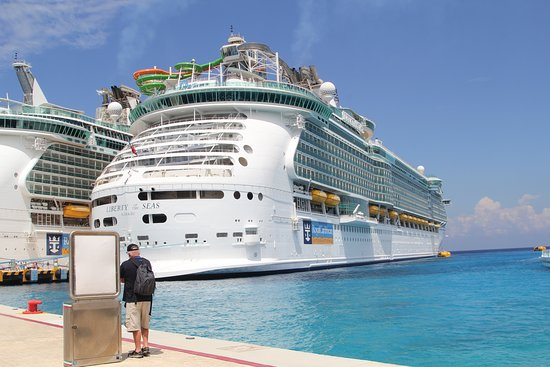 liberty of the seas docked in cozumel picture of port of galveston