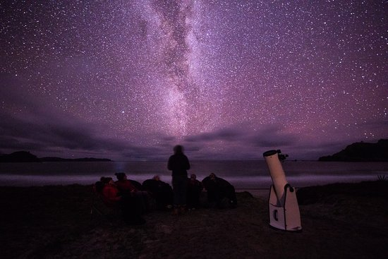 Tryphena, Новая Зеландия: Listen to starry stories while you breathe in the Milky Way