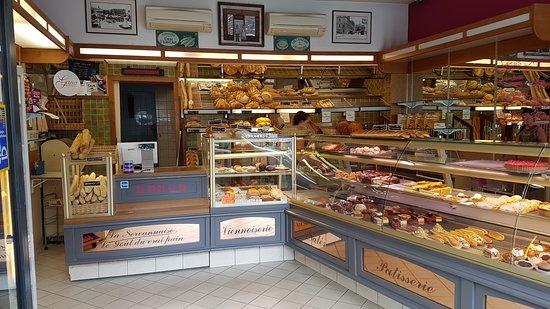 Boulangerie, patisserie, La Servannaise