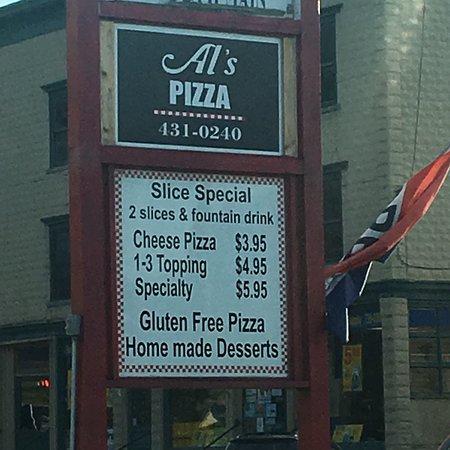 Randolph, Βερμόντ: Al's Pizzeria Ristorante