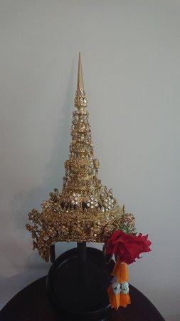 Gorro de la danza clasica tailandesa, es precioso!!