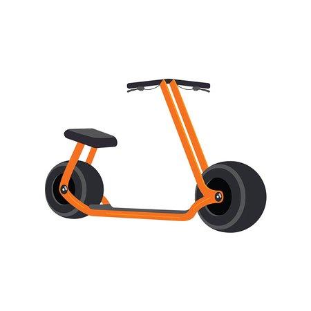 Vespa-, scooter- og knallertture