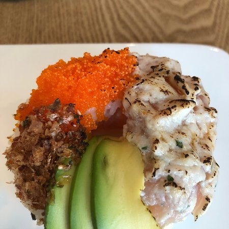 Great sushi donut!