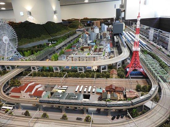 Itoigawa, اليابان: 鉄道ジオラマ