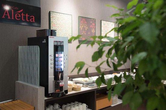 Best Western Osaka Tsukamoto: Coffee Area Dinning Cafe Aletta
