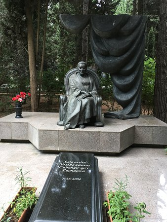 Alley of Honor: Famous People of Azerbaijan