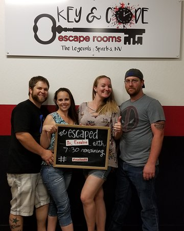 Key and Code Escape Rooms (Sparks) - Book in Destination 2019 - All