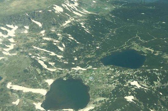 Flight tour over The Seven Rila Lakes...
