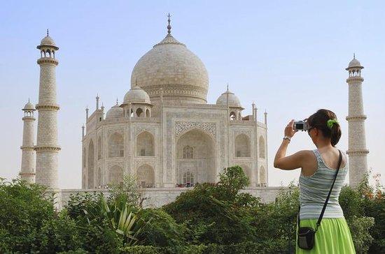 Fra Delhi: Privat Taj Mahal og Agra...