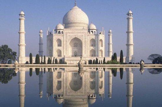 Taj Mahal & Street Tour på Agra