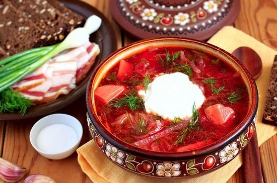 Kiev Food Tour Ukrainian Cuisine...