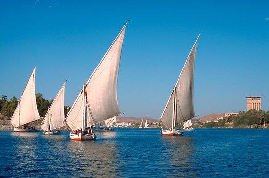 Kairo Seilturer på elven Nilen ved...