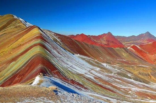 gira de grupo de montaña arcoiris