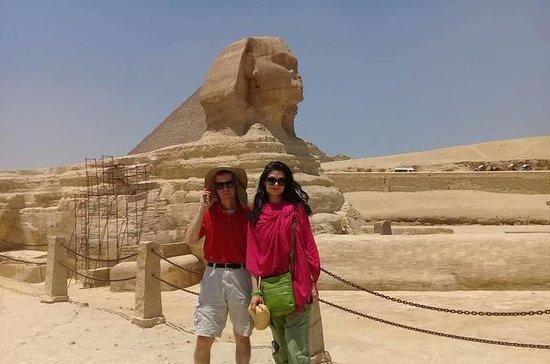 Giza Pyramiden Sphinx Mittagessen...
