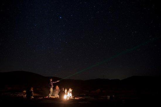 Observation des étoiles au cratère...