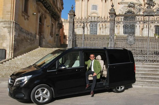 Comiso private transfer with van or...