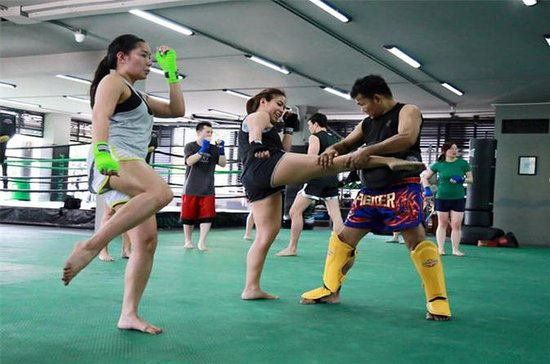 Muay Thai (Thai boxing) Lesson With...