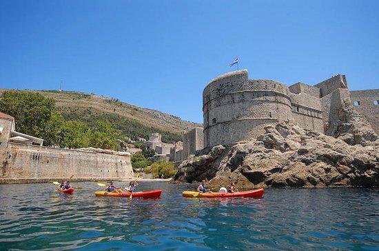 Dubrovnik kajakken op zee, snorkelen ...