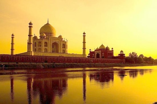 Excursion d'une journée au Taj Mahal...