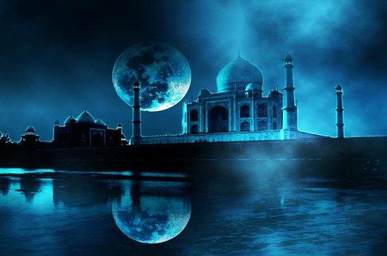 TAJ MAHAL MOONLIGHT TOUR DA DELHI