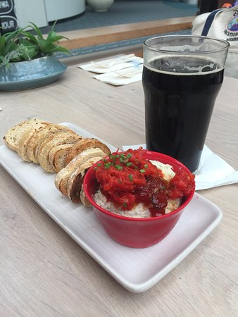 Cask & Larder: Fish dip with the Working Man Porter