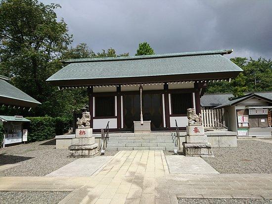 Machida, Japon : 社殿ー成瀬杉山神社