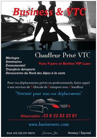 Business & VTC - Chauffeur Privé - Petites et longues distances