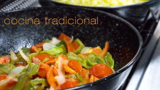 Villarta de San Juan, إسبانيا: cocina tradicional