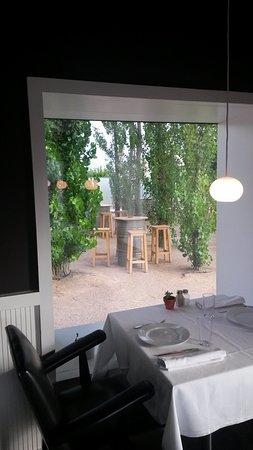 Restaurante Hotel Aire de Bardenas : Patio