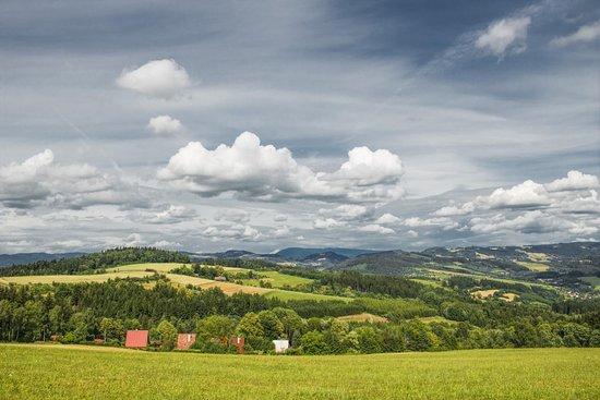Vsetin, Republik Ceko: Výhled z Prženských pasek