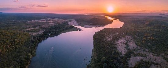 Chewore Safari Area, Zimbabue: Sunsets on the Zambezi
