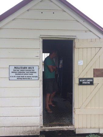 Ongaonga Museum: Military Hut