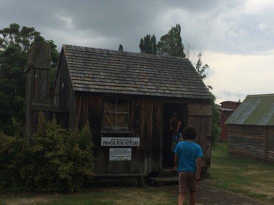 Ongaonga Museum: Pioneer Bush Hut