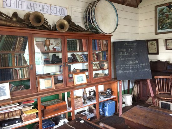 Hawke's Bay Region, Nowa Zelandia: In the school house