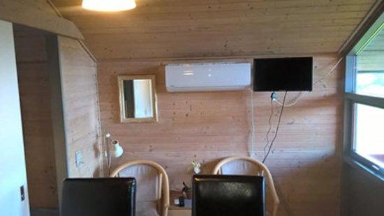 Store Fuglede, เดนมาร์ก: hytte indvendig