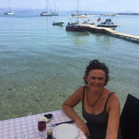 Petriti, Greece: Limnopoula Fish Taverna