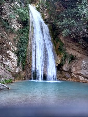 Neda Waterfalls: ο μεγαλος καταρρακτης