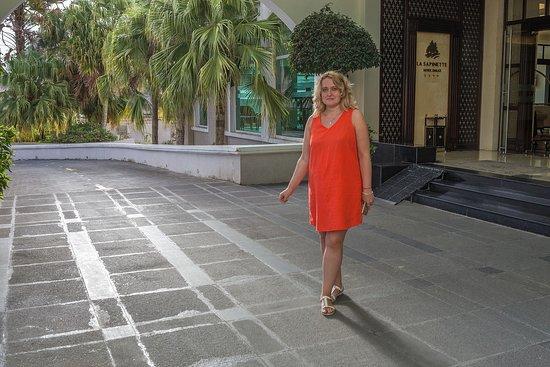 La Sapinette Hotel Dalat : Это я!
