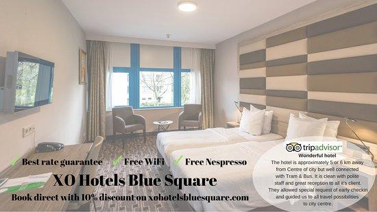 Wo sind die 4 Sterne - XO Hotels Blue Square, Amsterdam Bewertungen ...