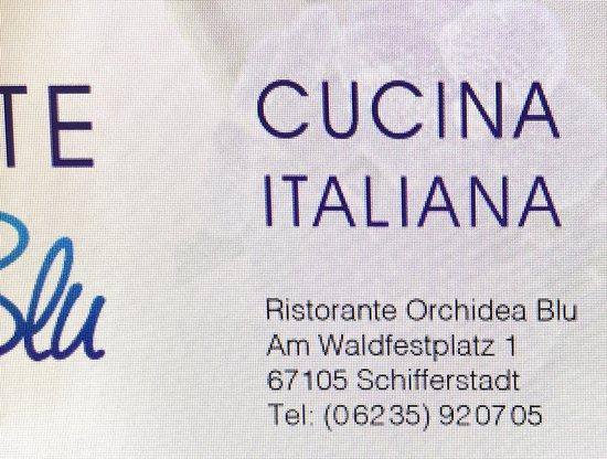 """Schifferstadt, Jerman: der Wegweiser zur """"Italienischen Küche"""""""