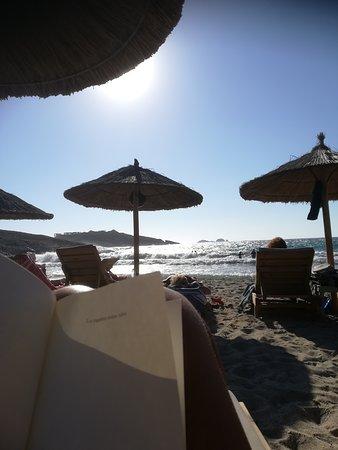 Parasporos, Greece: ombrelloni