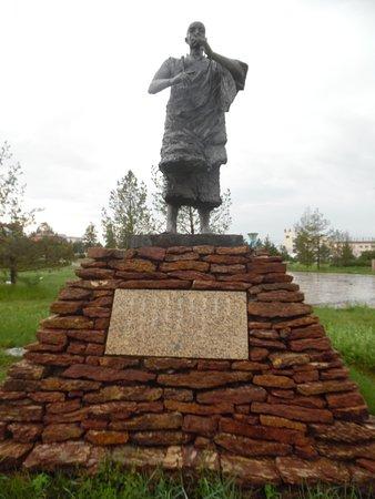 Zhenglan Qi, China: statue 2