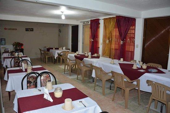 Nanacamilpa, Mexico: Cafeteria