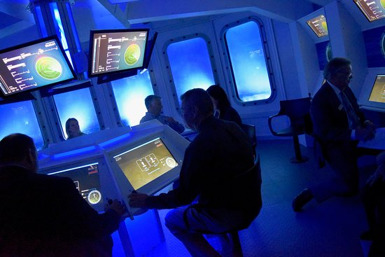 INFINITY Science Center: Deep Ocean Explorer