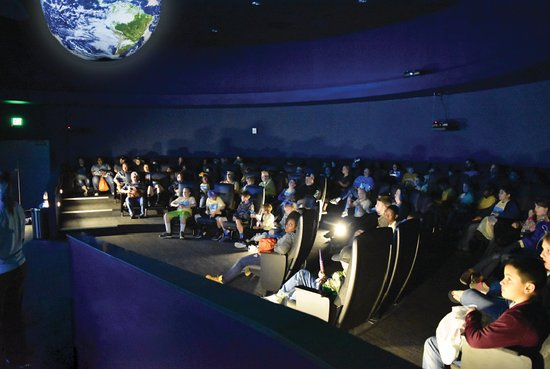 INFINITY Science Center: XSPHEREience theater