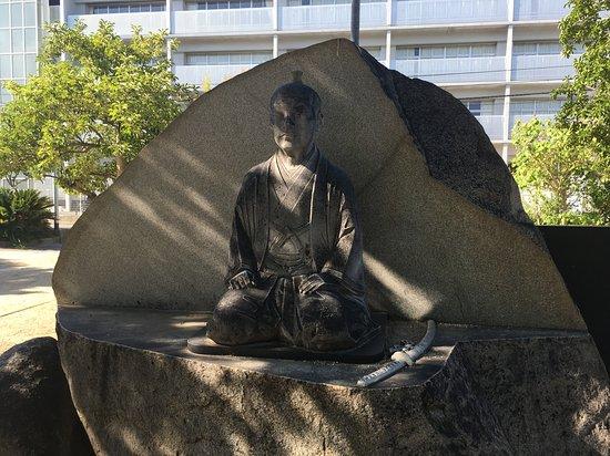 Statue of Ikoma Chikamasa